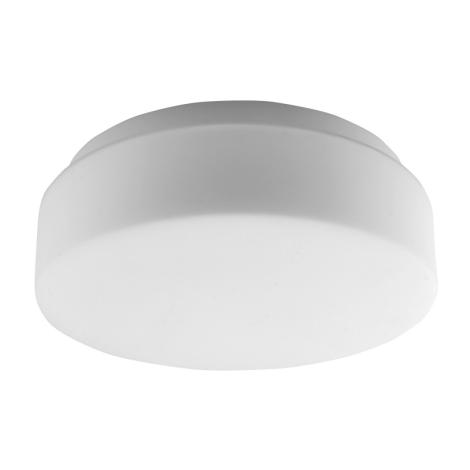 Panlux PSAB-60/B - Vonkajšie stropné svietidlo ALTRA 265 1xE27/60W/230V opálové sklo