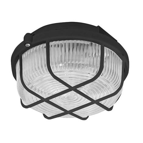 Panlux SKP-100/C - Vonkajšie stropné svietidlo KRUH 1xE27/100W/230V