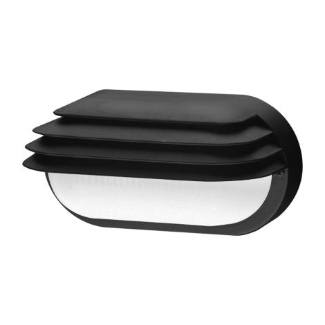 Panlux SOG-M-40/C - Vonkajšie nástenné svietidlo OVAL GRILL 1xE27/40W/230V