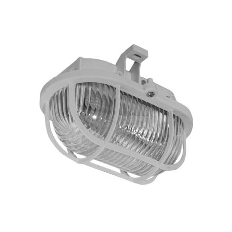 Panlux SOP-60/S - Vonkajšie stropné svietidlo OVAL 1xE27/60W/230V