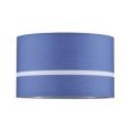 Paulmann 60324 - Luster na lanku TESSA 1xE27/60W/230V modrá