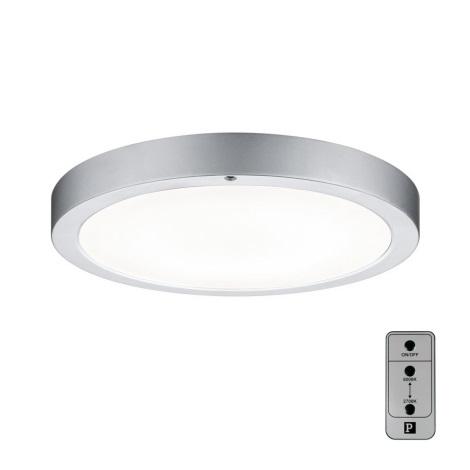 Paulmann 70433 - LED/11W Stmievateľné stropné svietidlo SMOOTH 230V + diaľkové ovládanie