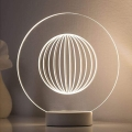 Paulmann 79531 - LED Stolná lampa YARN LED/3W/230V