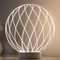 Paulmann 79534 - LED Stolná lampa MESH LED/3W/230V