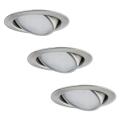 Paulmann 92089 - SADA 3x LED Podhľadové svietidlo 3xLED/4,2W/230V