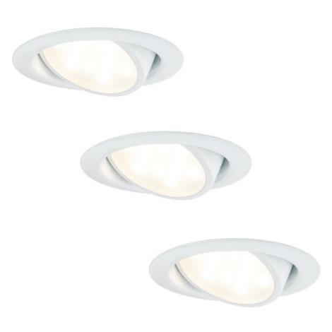 Paulmann 92091 - SADA 3x LED Podhľadové svietidlo 3xLED/4,2W/230V