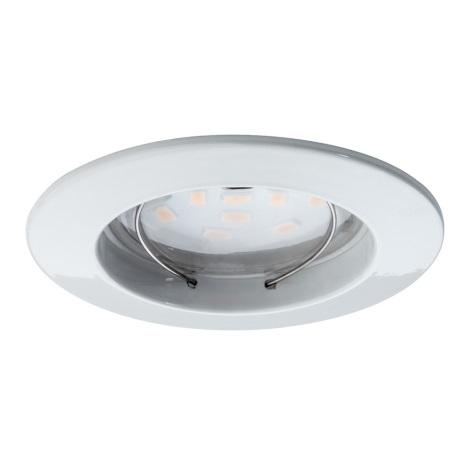 Paulmann 92754 - LED/6,8W IP44 Kúpeľňové podhľadové svietidlo COIN 1xLED/6,8W/230V