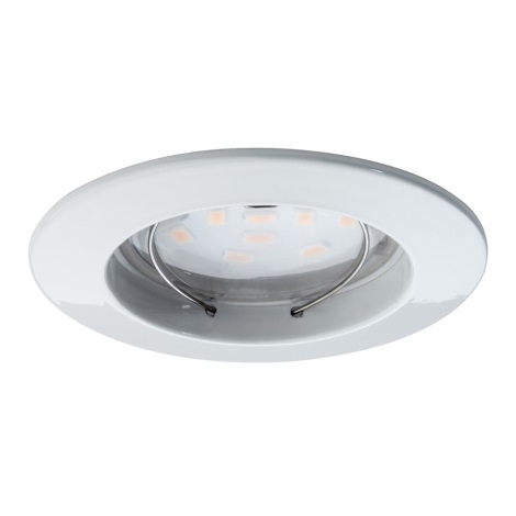 Paulmann 92754 - LED/6,8W IP44 Kúpeľňové podhľadové svietidlo COIN 230V