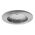 Paulmann 92756 - LED/6,8W IP44 Kúpeľňové podhľadové svietidlo COIN 230V