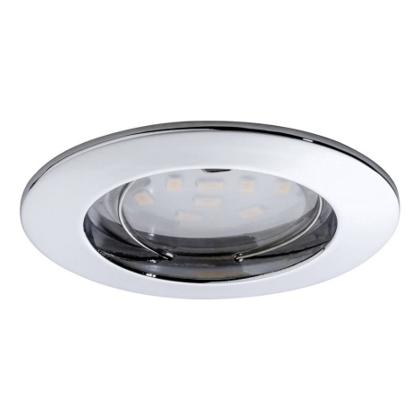 Paulmann 92758 - LED/6,8W IP44 Kúpeľňové podhľadové svietidlo COIN 230V