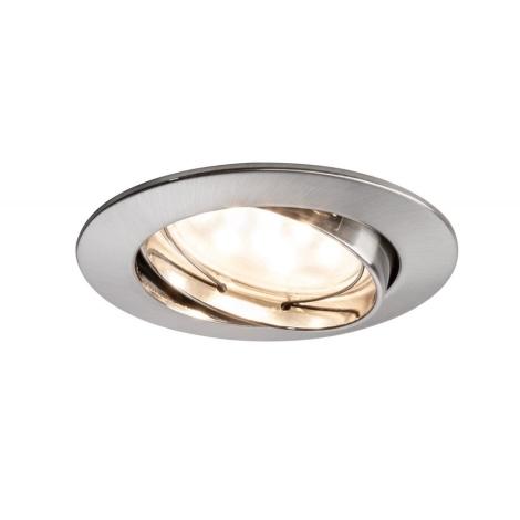 Paulmann 92767 - LED/6,8W Kúpeľňové podhľadové svietidlo COIN 230V