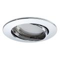 Paulmann 92779 - LED/6,8W Kúpeľňové podhľadové svietidlo COIN 230V