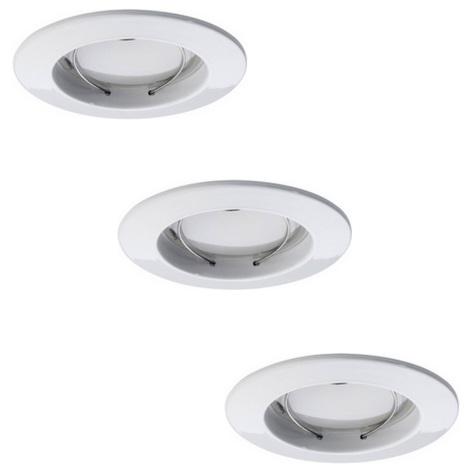Paulmann 92823 - SADA 3xLED/7W IP44 Stmievateľné kúpeľňové podhľadové svietidlo COIN 230V