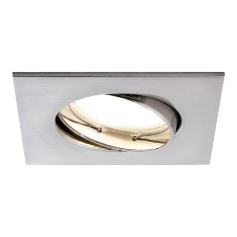 Paulmann 92840 - LED/7W Stmievateľné kúpeľňové podhľadové svietidlo COIN 230V