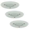 Paulmann 99477 - SADA 3xGU5,3/35W IP44 Kúpeľňové podhľadové svietidlo PREMIUM 230V/12V