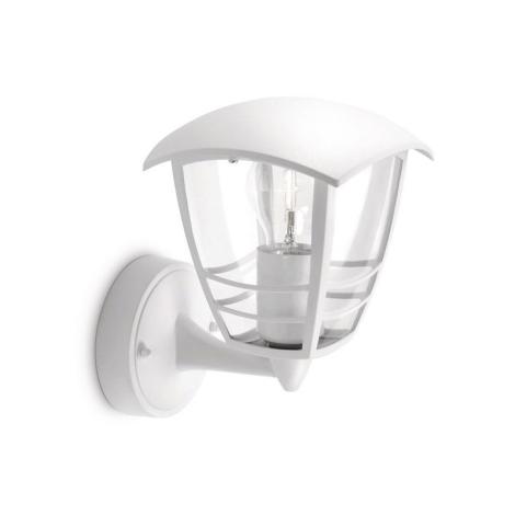 Philips 15380/31/16 - Vonkajšie nástenné svietidlo MYGARDEN CREEK E27/60W/230V