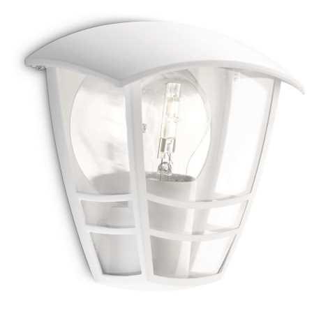 Philips 15387/31/16 - Vonkajšie nástenné svietidlo MYGARDEN CREEK E27/60W/230V