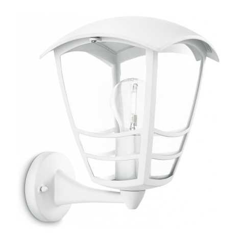 Philips 15460/31/16 - Vonkajšie nástenné svietidlo STREAM 1xE27/60W/230V
