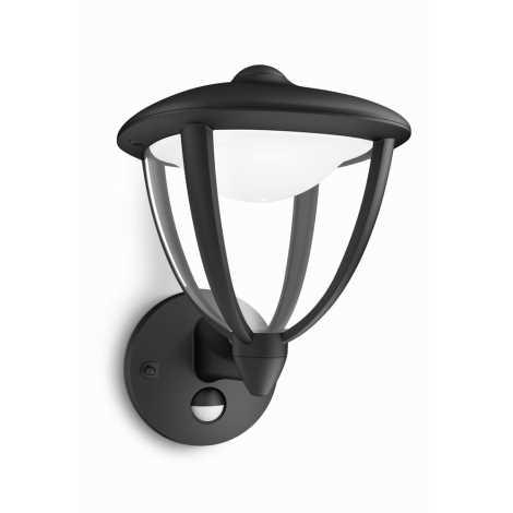 Philips 15479/30/16 - LED vonkajšie osvetlenie ROBIN s čidlom 1xLED/4,5W/230V