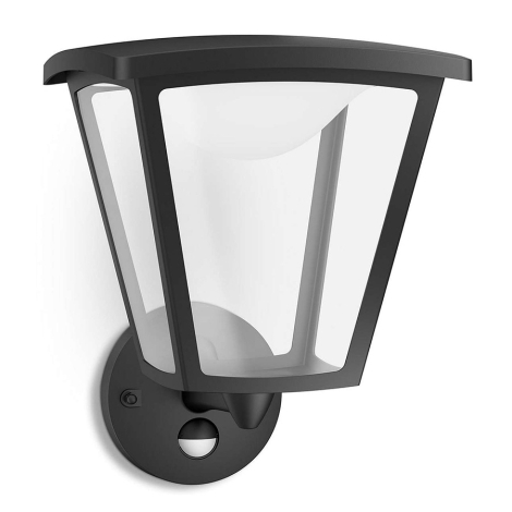 Philips 15488/30/16 - LED Vonkajšie osvetlenie s čidlom COTTAGE 1xLED/4,5W/230V IP44