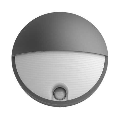Philips 16456/93/16 - LED vonkajšie svietidlo s čidlom MYGARDEN CAPRICORN LED/6W/230V