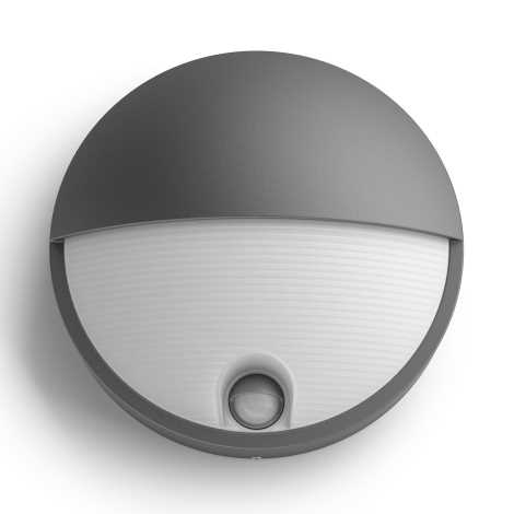 Philips 16456/93/P3 - LED vonkajšie svietidlo s čidlom MYGARDEN CAPRICORN LED/6W/230V