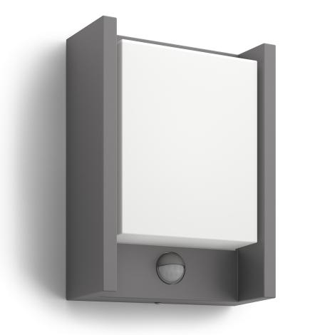 Philips 16461/93/16 - LED vonkajšie svietidlo s čidlom MYGARDEN ARBOUR 1xLED/6W/230V