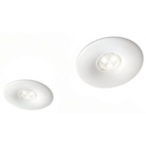 Philips 16811/31/16 - SADA 2x LED kúpeľňové podhľadové svietidlo LEDINO LED/7,5W/230V