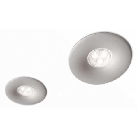 Philips 16811/87/16 - SADA 2x LED kúpeľňové podhľadové svietidlo LEDINO LED/7,5W/230V