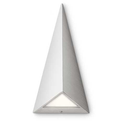 Philips 17247/47/16 - LED Vonkajšie nástenné svietidlo MYGARDEN HILLS 2xLED/2,5W/230V biela