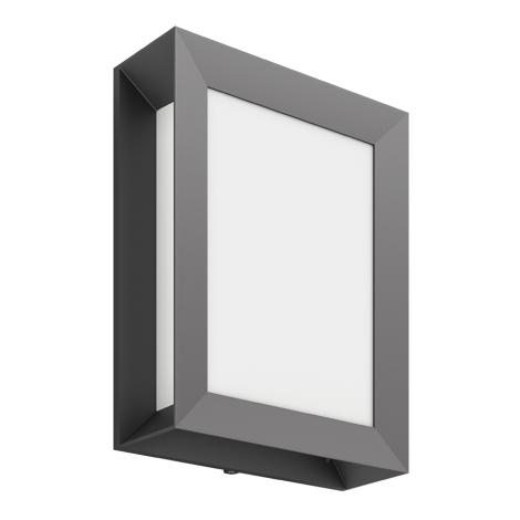 Philips 17293/93/P3 - Vonkajšie nástenné svietidlo MYGARDEN KARP 1xLED/6W/230V