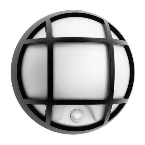 Philips 17319/30/16 - LED vonkajšie nástenné svietidlo s čidlom EAGLE 1xLED/3W/230V