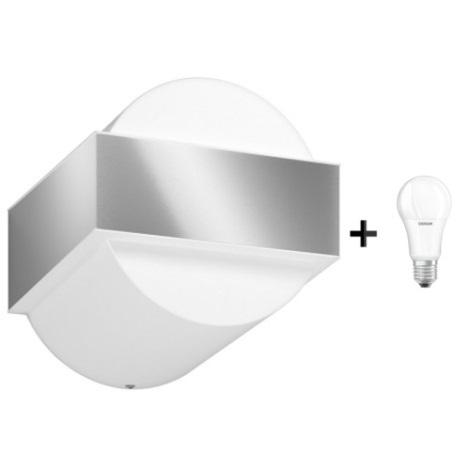 Philips 17334/47/PN - LED Vonkajšie nástenné svietidlo GRAVEL 1xE27/8,5W/230V IP44