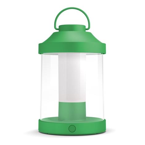 Philips 17360/33/P0 - LED Prenosná záhradná lampa ABELIA LED/3W/5V