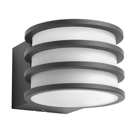 Philips 17401/93/P0 - LED Vonkajšie nástenné svietidlo HUE LUCCA 1xE27/9,5W/230V IP44