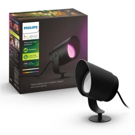 Philips 17462/30/P7 - LED RGB Vonkajšia lampa HUE LILY LED/15W/230V IP44 - Doplňujúca sada