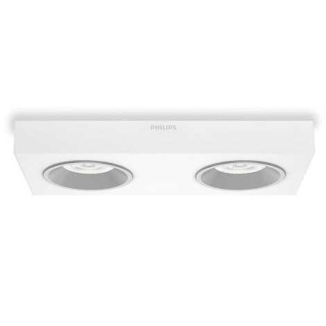 Philips 31212/31/16 - LED bodové svietidlo INSTYLE QUINE 2xLED/4,5W/230V