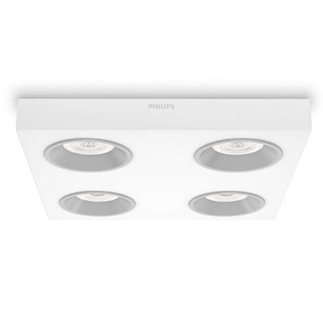 Philips 31214/31/16 - LED bodové svietidlo INSTYLE QUINE 4xLED/4,5W/230V