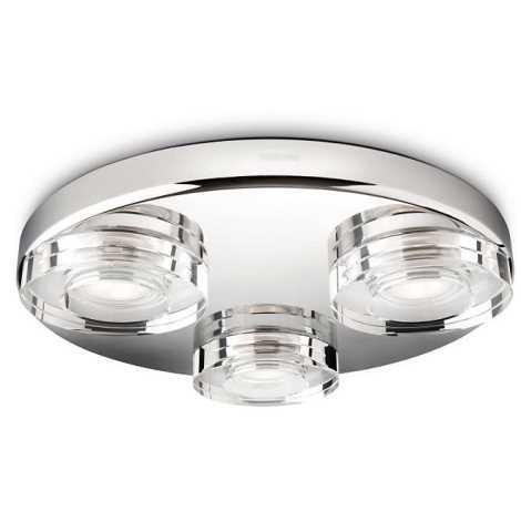 Philips 32209/11/16 - LED Stropné kúpeľňové svietidlo INSTYLE MIRA 3xLED/7,5W