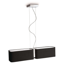 Philips 36336/30/16 - Luster závesný INSTYLE CLEMENT 2xE27/23W/230V