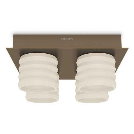 Philips 37326/06/16 - LED stropné svietidlo INSTYLE ORTEGA 4xLED/4,5W/230V
