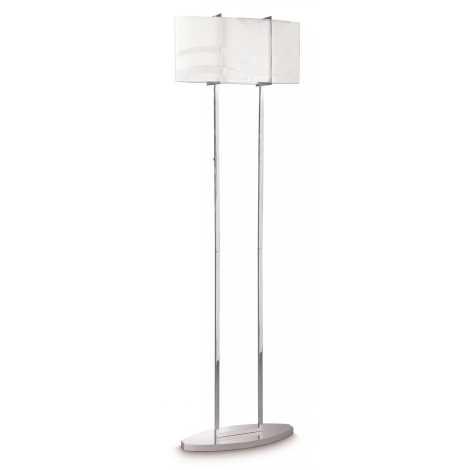 Philips 37503/11/16 - Dlážková lampa INSTYLE ONDAS 2xE27/150W/230V
