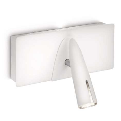 Philips 37912/31/16 - LED Bodové svietidlo INSTYLE BENSON 1xLED/5W + 1xLED/2,5W biela