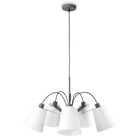 Philips 40568/93/16 - Luster MYLIVING MOY 5xE14/42W/230V