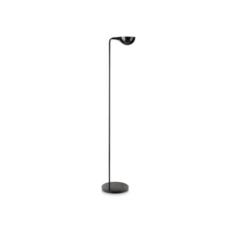 Philips 42255/30/16 - Stojacia lampa TIEGAL čierna 1xE27/70W/230V