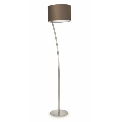 Philips 42258/26/16 - Stojacia  lampa LEOD hnedá 1xE27/23W/230V