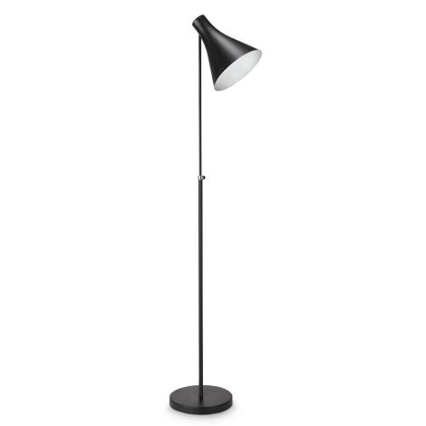 Philips 42261/30/16 - Stojacia  lampa DRIN čierna 1xE27/23W/230V