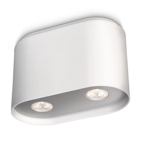 Philips 53162/31/16 - Bodové LED svietidlo MYLIVING SEQUENCE 2xHighPower LED/7,5W/230V