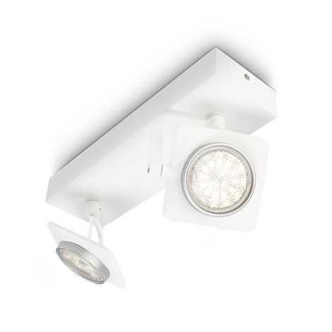 Philips 53192/31/16 - LED bodové svietidlo MILLENNIUM 2xLED/4W/230V