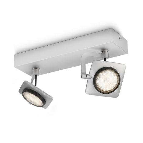 Philips 53192/48/16 - LED bodové svietidlo MILLENNIUM 2xLED/4W/230V
